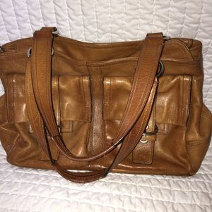 coach tote satchel bag